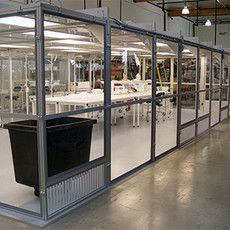 Modular Cleanrooms and Enclosures