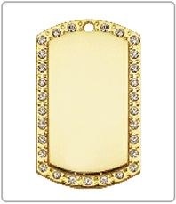 $45 Gold Studded