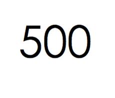 500 stuks. €75,- ex btw.