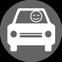 Less aggressive car drivers