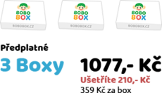 Předplatné 3 Boxy
