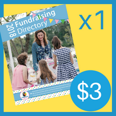 1 Copy of the 2018 Fundraising Directory ($3 for postage, directory is FREE!)