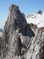 På ett högt berg