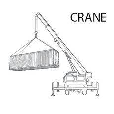 Extremely difficult location - Crane