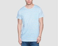 Blue Stripes Shirt  ($19)