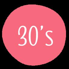 30 - 39 años