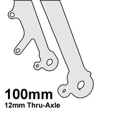100mm Thru-Axle (12mm)