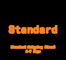Standard shipping (FREE) → 6-7 days