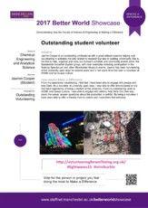 Jasmin Cooper - Volunteering