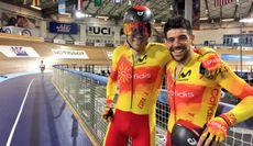 I.Ávila i J.Font. Ciclisme