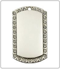 $45 Silver Studded
