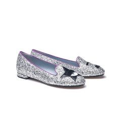 Glitter Party Loafers
