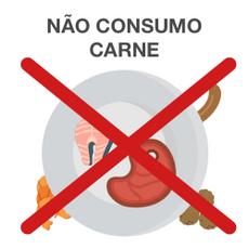 Não consumo Carne