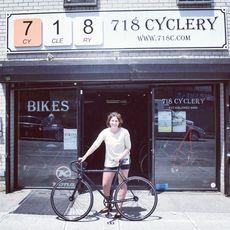 Pick up Bike at 718