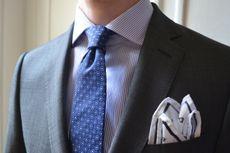 Une cravate avec un autre motif