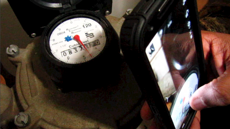 Verify your meter reading