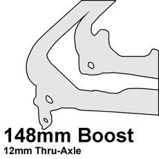 """!48mm """"Boost"""" Thru-Axle"""