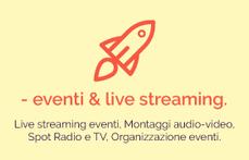 Eventi e live streaming