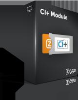 2x CI+ module (€4,00 p/m)