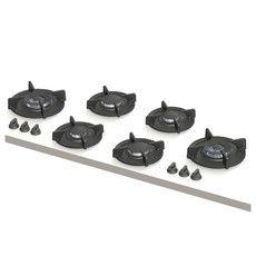 Foessa XL | 2x klein, 2x middel, 2x wok-/sudder