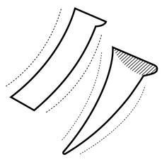 學習拿捏輪廓柔軟度與曲線美