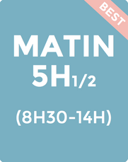 MATIN 5H 1/2