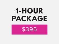 1 hour -- $395