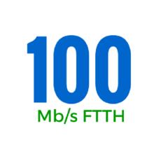 100Mbps (OSFTTHB100250GB)