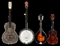 Ukulele/ Banjos/ Mandolins