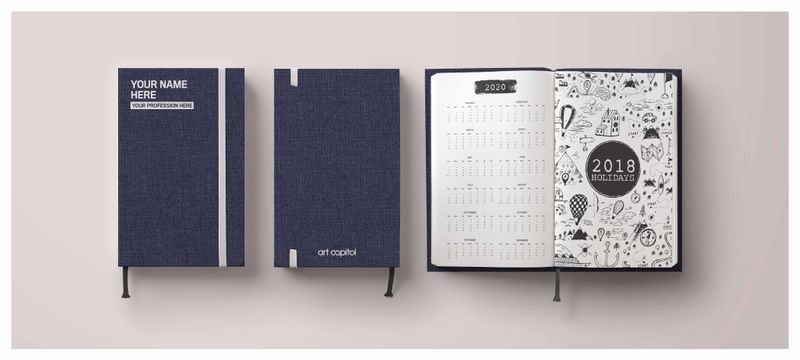 art capitol personalized planner 2018