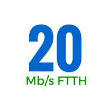 20Mbps (OSFTTHB20250GB)