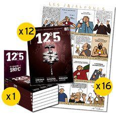 Pack n°2-12 revues-16 affiches-1 présentoir
