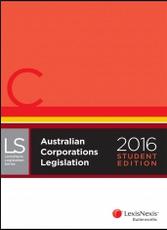 Australian Corporations Legislation 2016