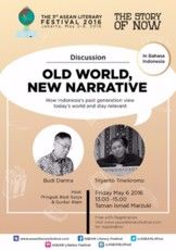 "Discussion ""Old World, New Narrative"""