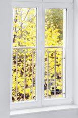 Fenster sind isolierverglast