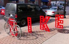 Aparcamientos para bicicletas artísticos
