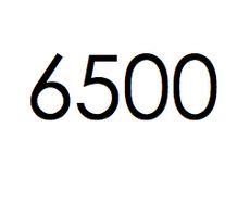 6.500 stuks. €975,- ex btw.