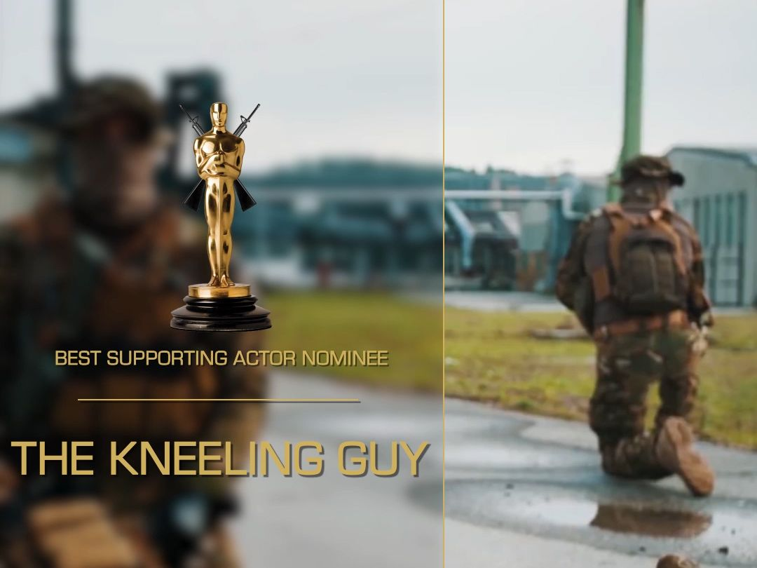 """Picture for choice """"The kneeling guy"""""""