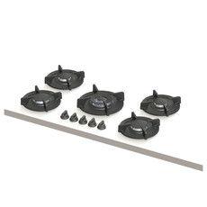 Elbrus | 2x klein, 2x middel, 1x wok-/sudder