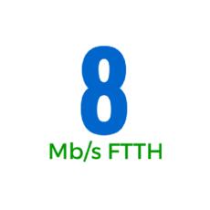 8Mbps (OSFTTHB8150GB)