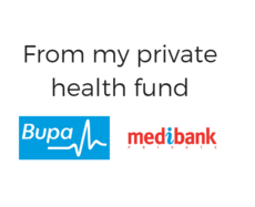 Referred by Private Health Provider