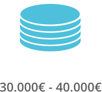 30.000€ - 40.000€