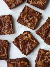 Almond Butter Brownies by Plantiful Brunette