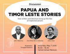 "Discussion ""Papua and Timor Leste Stories"""""