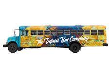 Large Art Bus (44-48 Passengers)