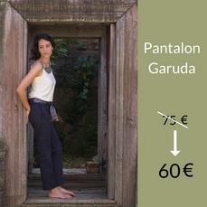 Le Pantalon Garuda : 60 €