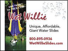 Wet Willie Water Slides