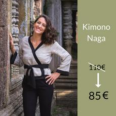 Le Kimono Naga : 85 €