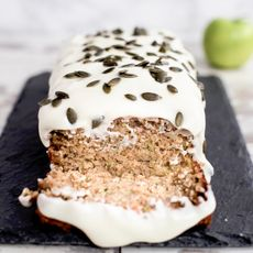 Courgette Apple Cake by the Mediterranean Dietitian