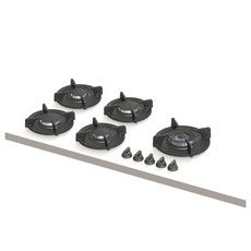 Ebeko | 2x klein, 2x middel, 1x wok-/sudder